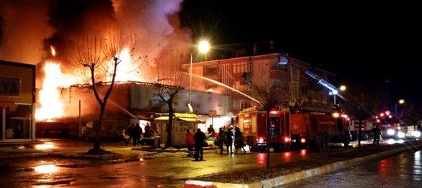 Hain terör örgütü PKK iş yeri ve fabrika yangınlarını üstlendi!