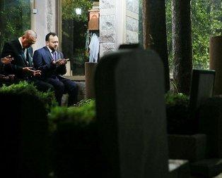 Erdoğandan, Arvasi Hazretlerinin kabrine ziyaret