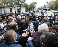 Meclis önünde CHP ve HDP provokasyonu!