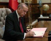 Başkan Erdoğan 5 üniversiteye rektör atadı