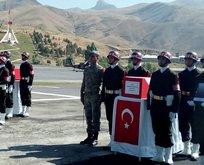 PKKlıların şehit ettiği anne ve 11 aylık bebek için tören düzenlendi