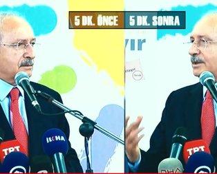 Kılıçdaroğlu Suriye konusunda hep yalpaladı!