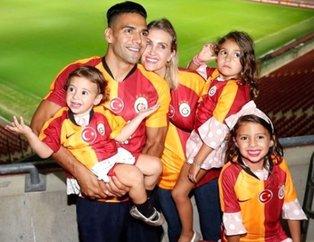 Galatasaraylı Radamel Falcao'nun eşi Lorelei Taron bunu da yaptı... ( Futbolcuların eşleri ve sevgilileri )