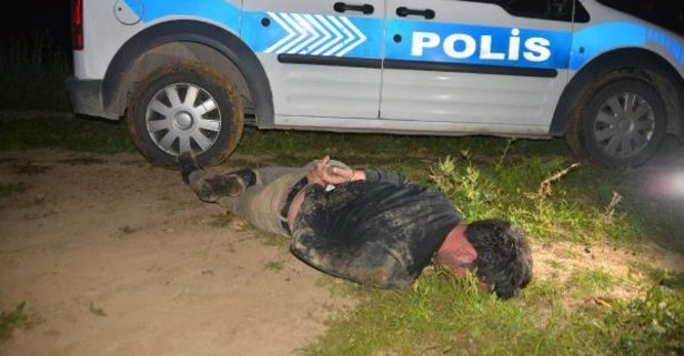 Polisten kaçtı yakalanınca kıvırdı!