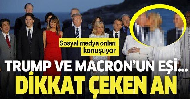 G7 De Dikkat Ceken An Trump Ve Macron Un Esi Takvim