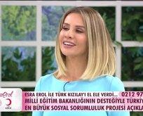 Esra Erol canlı yayında inanılmazı başardı!