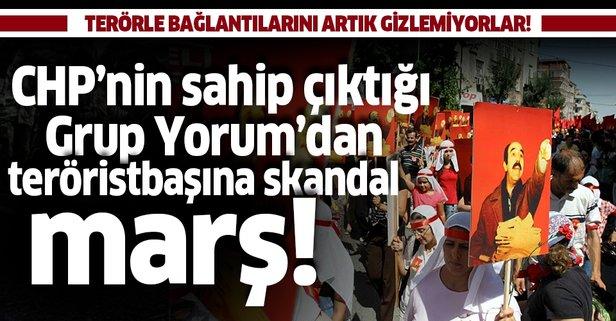 Grup Yorum'dan DHKP-C elebaşına skandal marş