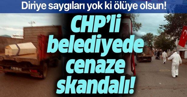 CHP'li belediyede defin skandalı!