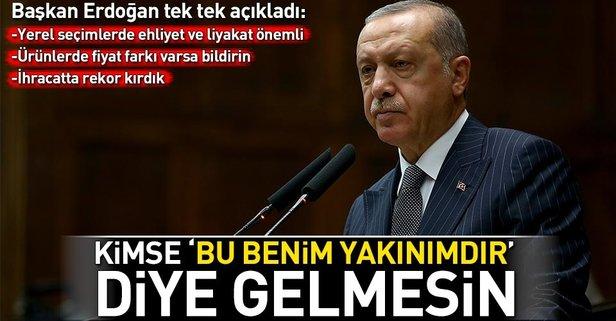 Başkan Erdoğan'dan flaş yerel seçim uyarısı!
