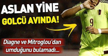 Diagne ve Mitroglou'dan umduğunu bulamayan Galatasaray'da hedefte Salomon Rondon var