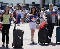 5 milyon Rus tatile geliyor