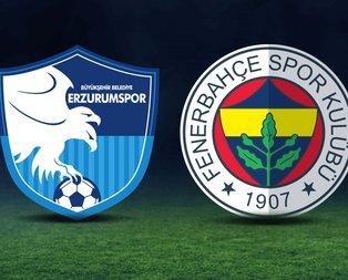 BB Erzurumspor-Fenerbahçe maçı ne zaman?
