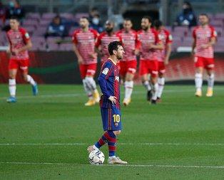 Barcelona evinde kaybetti