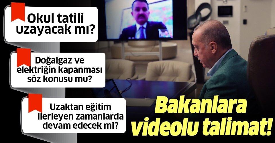 Son dakika: Başkan Erdoğan'dan videolu paylaşım: Mesaimiz devam ediyor