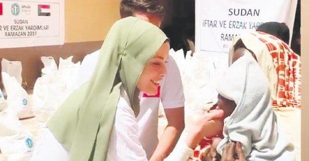 İyilik meleği Sudan'da