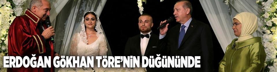 Gökhan Töre, Cumhurbaşkanı Erdoğanın şahitliğinde evlendi