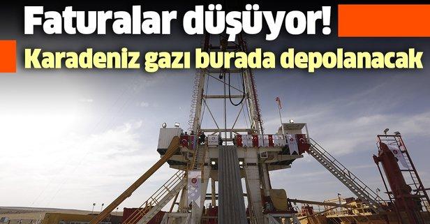 Karadeniz'in gazı Tuz Gölü'nde depolanacak
