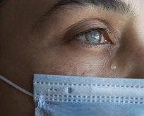 Göz yaşında koronavirüs olur mu?