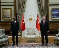 Başkan Erdoğan, Somali Adalet Bakanı ile görüştü