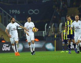 Kadıköy'de puanlar paylaşıldı! (MS: Fenerbahçe 2-2 BB Erzurumspor)