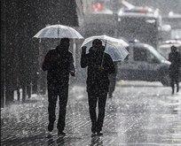 Meteoroloji'den kuvvetli rüzgar ve sağanak yağış uyarısı