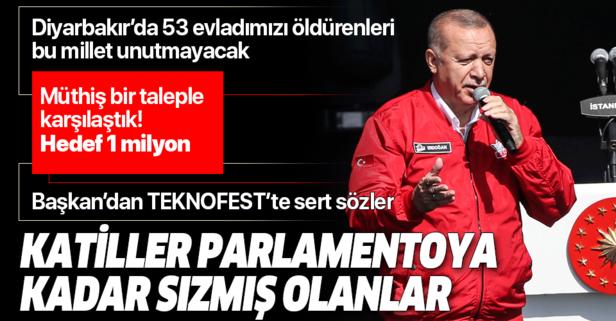 Başkan Erdoğan TEKONOFEST'te