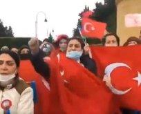 Azerbaycan'da Rusya'ya şok protesto
