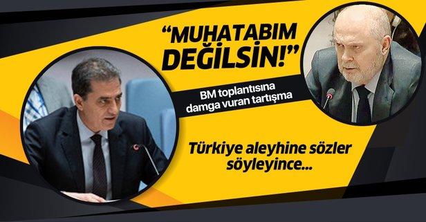BMGK'da gergin anlar! Türkiye aleyhinde konusşunca...