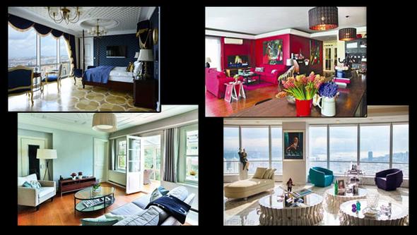Ünlü isim 580 m2'lik apartman dairesinde yaşıyor!
