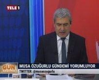 FETÖ tetikçisi Tele 1'de Başkan Erdoğan'a alçak iftira!