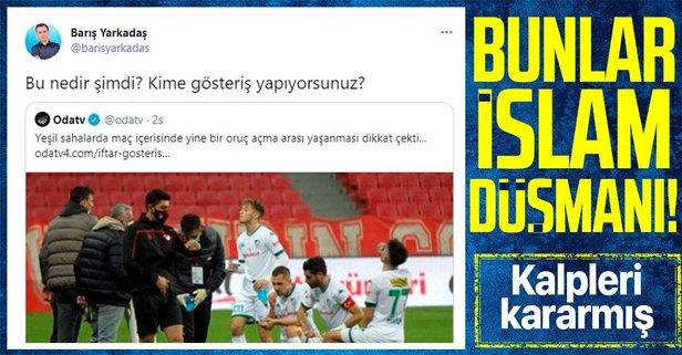 Futbolcuların oruç açması CHP'li ismi rahatsız etti