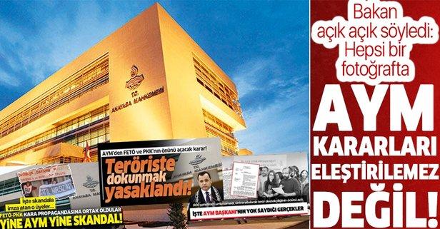 İçişleri Bakanı Süleyman Soylu'dan AYM tepkisi