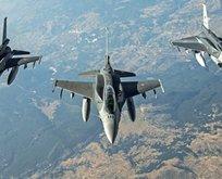 Türk jetleri Kuzey Iraka bomba yağdırdı