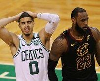 LeBron James yeniden finalde