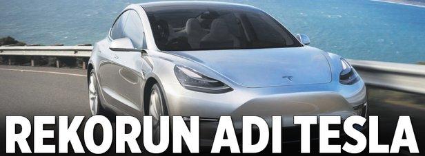 Rekorun adı Tesla