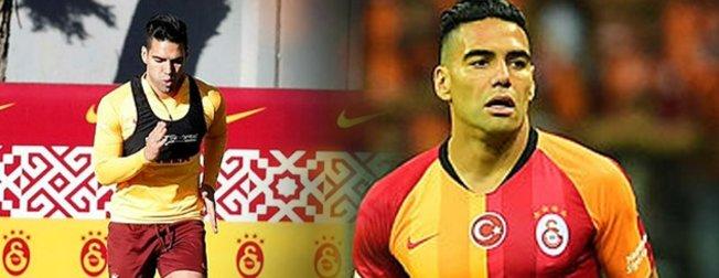 Galatasaraylı Radamel Falcao bu görüntüsüyle pes dedirtti! Kolombiyalı'ya yıllar iyi davranmış