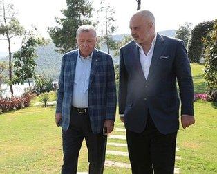 Başkan Erdoğan, Edi Rama ile görüştü