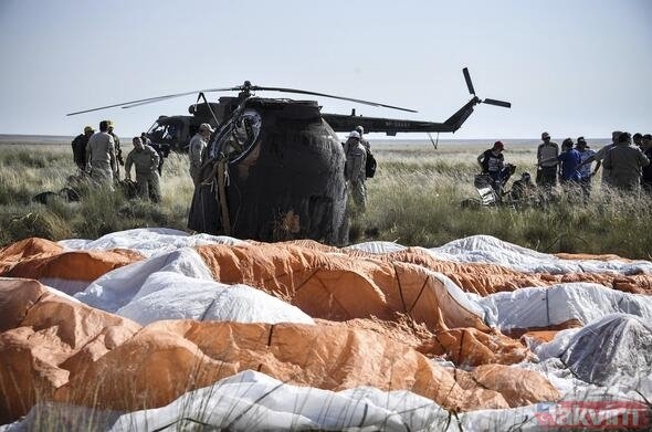 Soyuz MS 11 Dünya'ya döndü