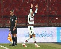Attığı gol verilmeyen Ronaldo çılgına döndü