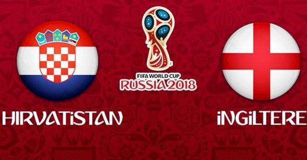 Dünya Kupasında final öncesi son maç