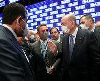 Başkan Erdoğan ihracat şampiyonu firmayı kutladı