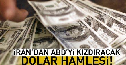 İran'dan ABD'yi çok kızdıracak adım: Artık dolar kullanmayacaklar!