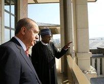 Cumhurbaşkanı Erdoğan, Buhari onuruna öğle yemeği verdi