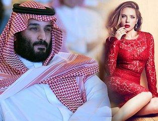 Scarlett Johansson Suudi prens Muhammed bin Selmanı reddetti