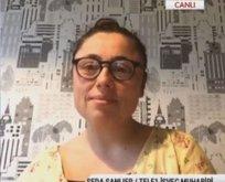 TELE1'in sözde İsveç temsilcisi terör örgütü liderinin eşi çıktı