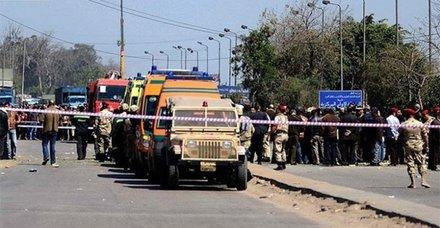 Mısırda Hristiyanları taşıyan otobüse silahlı saldırı
