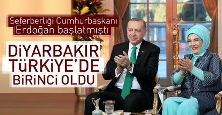 Okuryazarlık Seferberliğinde Diyarbakır Türkiye birincisi