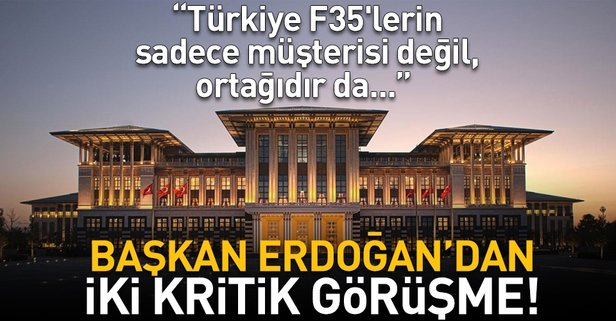 Türkiye F35lerin sadece müşterisi değil, ortağıdır da...