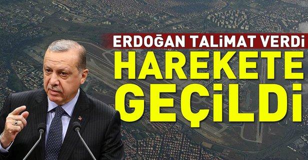 Erdoğan talimat verdi TOKİ ve Emlak Konut harekete geçti