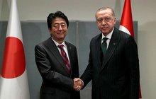 Başkan Erdoğan Şinzo Abe ile görüştü